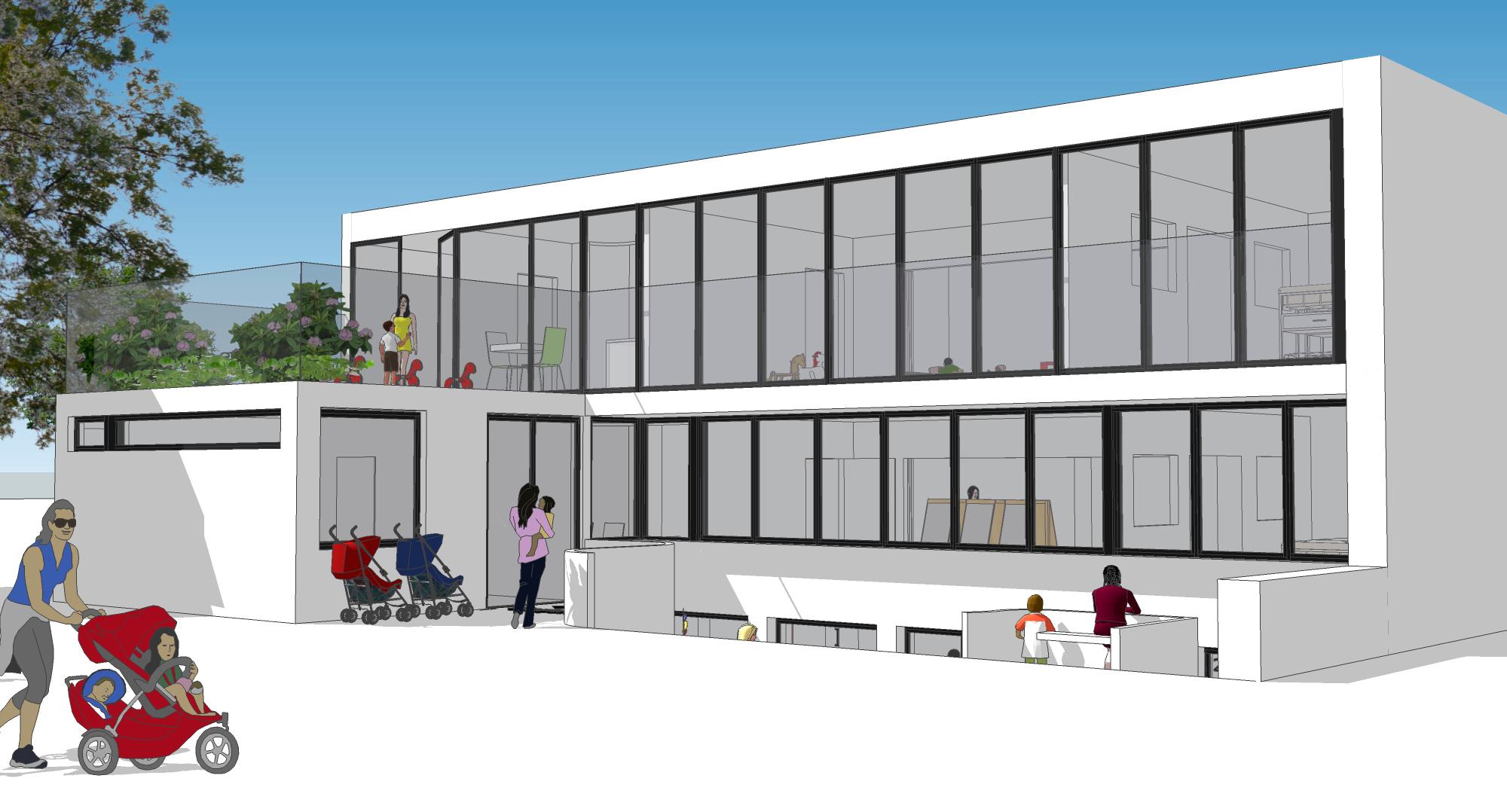 Umbau zur Kindertagesstätte Freiburg