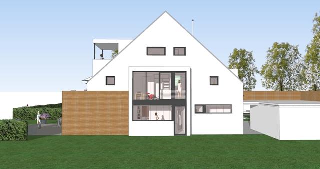 Architekturbüro_Roland Rombach_Kirchzarten_Neubau Einfamilienhaus
